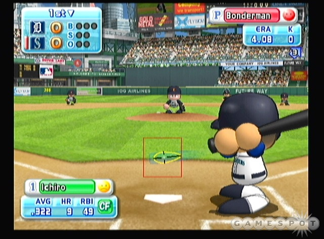The players may look goofy, but you won't believe how realistically the ball flies off the bat.