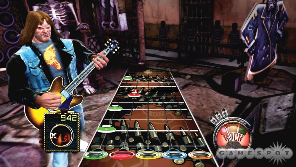 It may look easy, but Guitar Hero is an extremely challenging game to master.