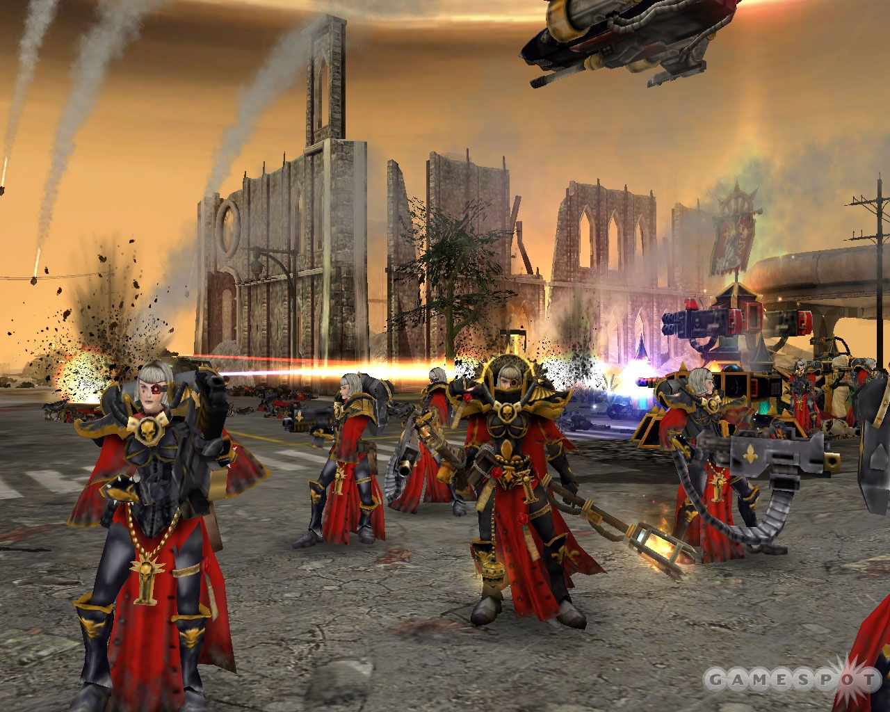 The Sisters of Battle are one of the two new factions in Soulstorm.