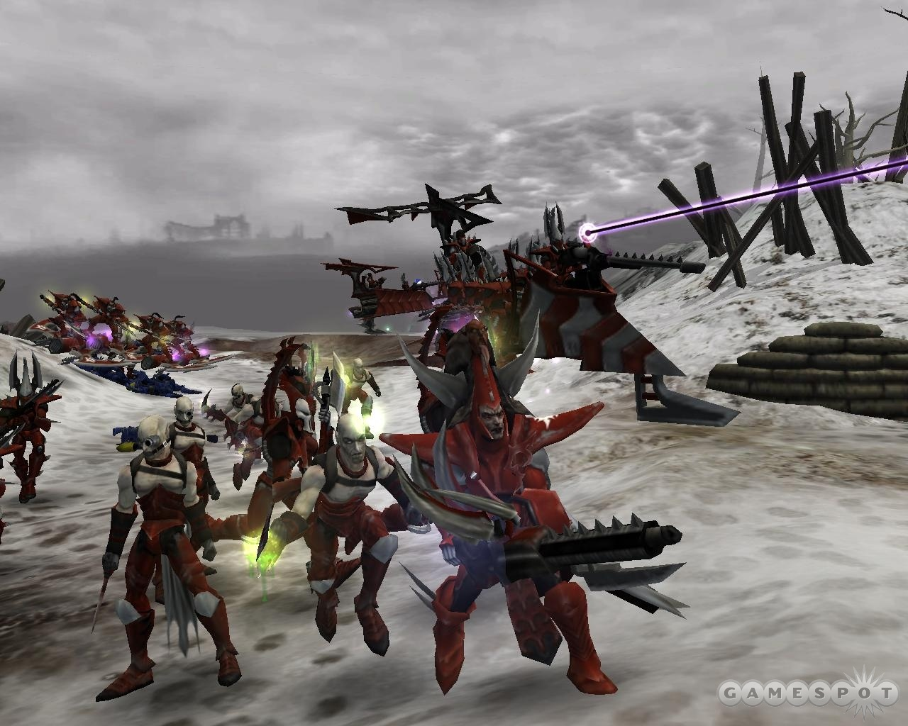 The Dark Eldar are an evil pirate race that eat souls. That is indeed pretty evil.