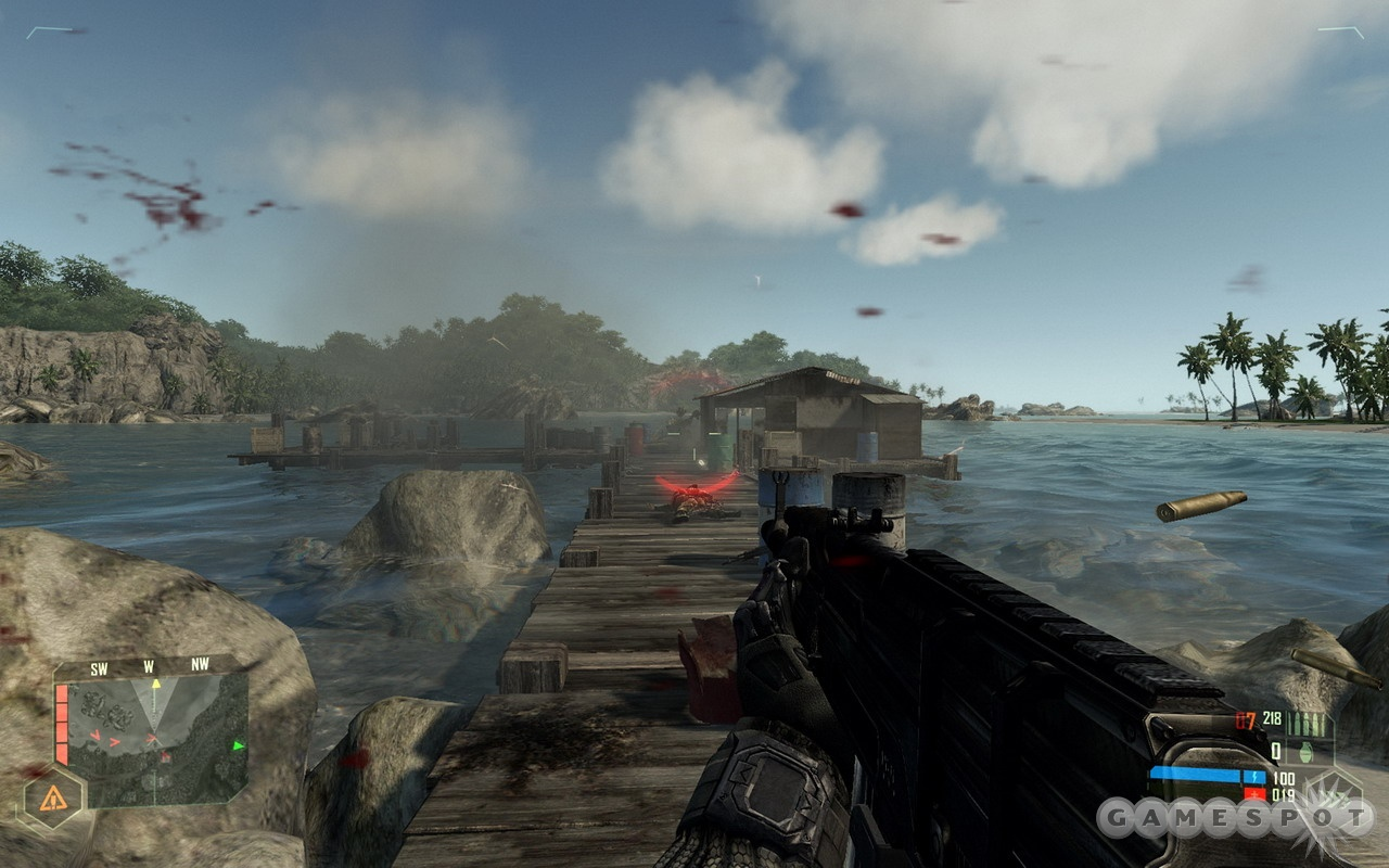 This island would make a great vacation spot if it didn't have any firefights.
