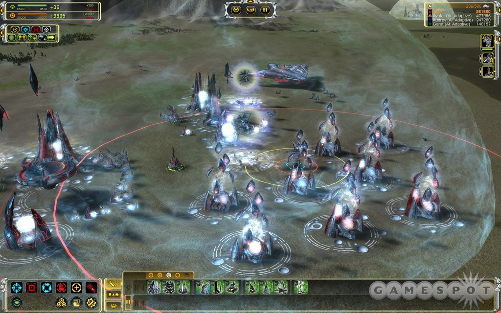 The visual improvement over Supreme Commander is considerable.