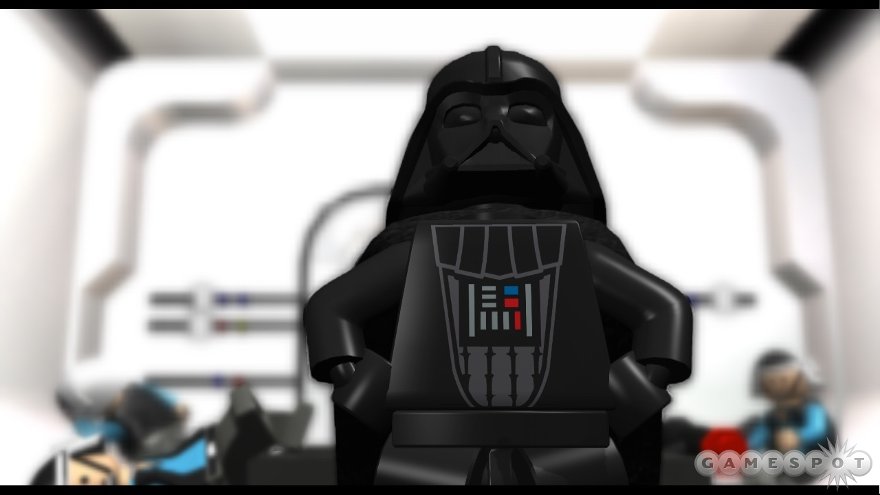The Lego re-creation of the famous scene where Darth Vader says 'Sit on it, Potsie!'