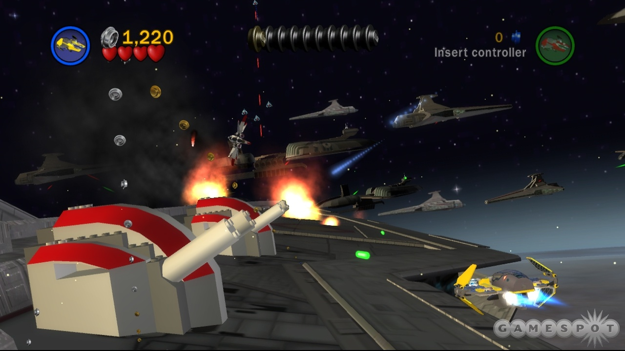 If you've played a Lego Star Wars game before, be prepared for some déjà vu.