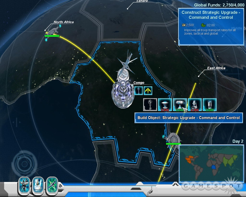 Global domination is the goal of scenario mode.