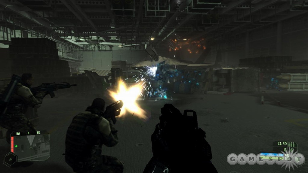 The firefights are stunning, as well as challenging, whether you're tackling North Korean soldiers or alien war machines.