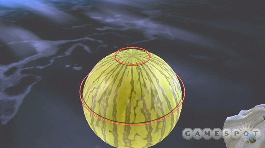 Fun fact: watermelons sometime contain Power Stars!