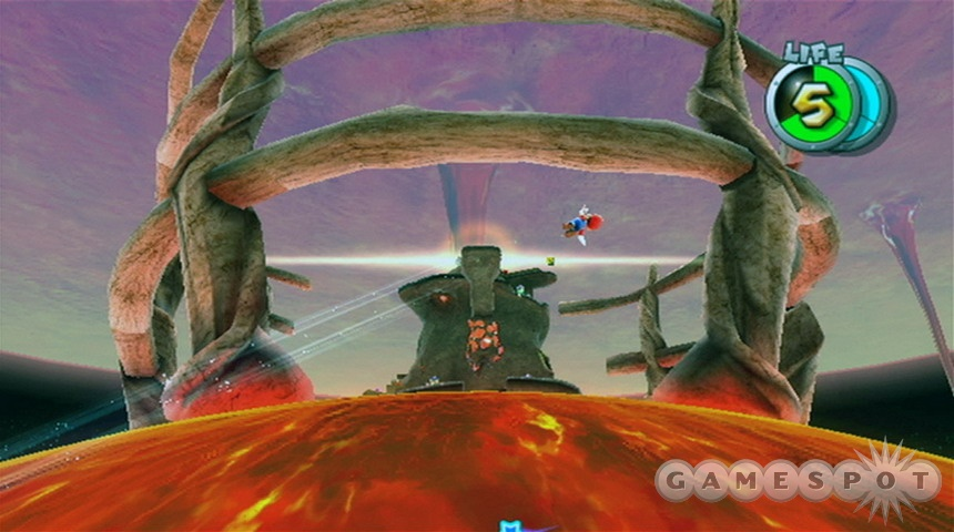 Despite its ominous appearance, the lava spire isn't…well, yes, it is in fact ominous.