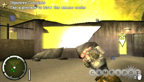 It wouldn't be Medal of Honor if you weren't blowing up bunkers.