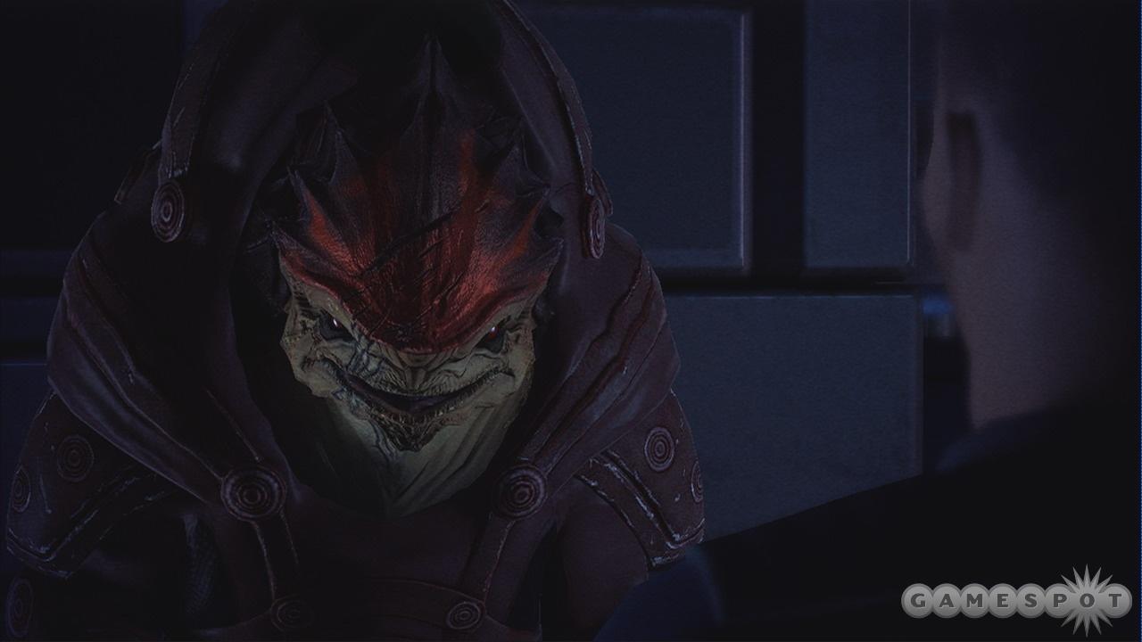 Wrex isn't just a badass character model--he's also a badass.