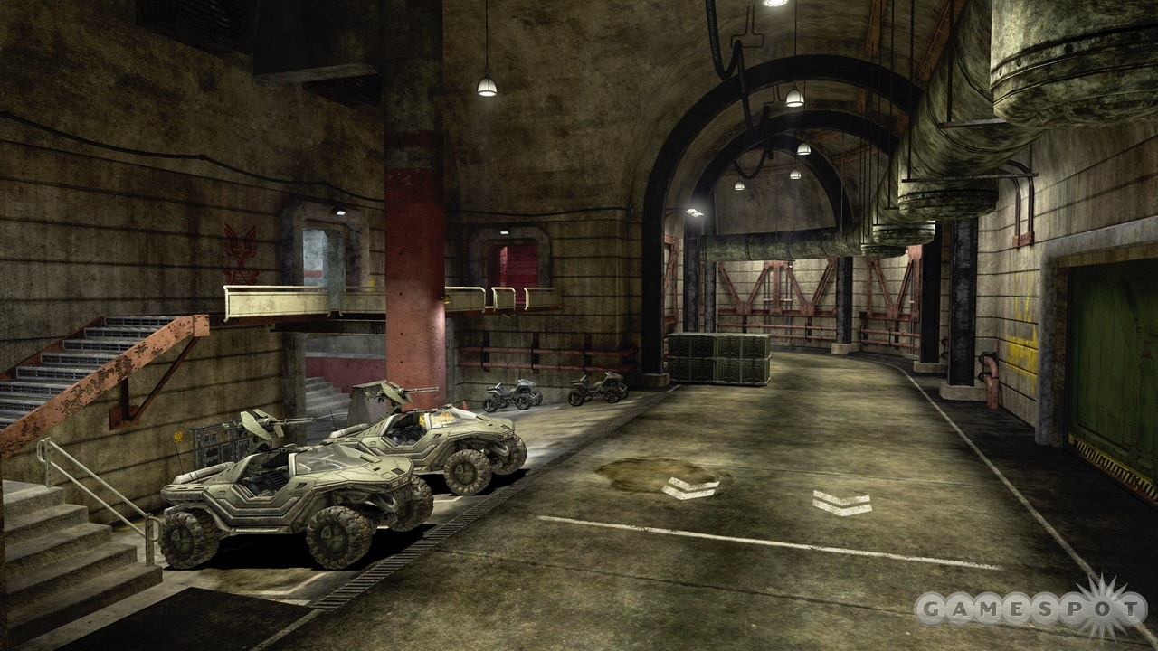 Rat's Nest is defined by the track that surrounds this large, indoor level.