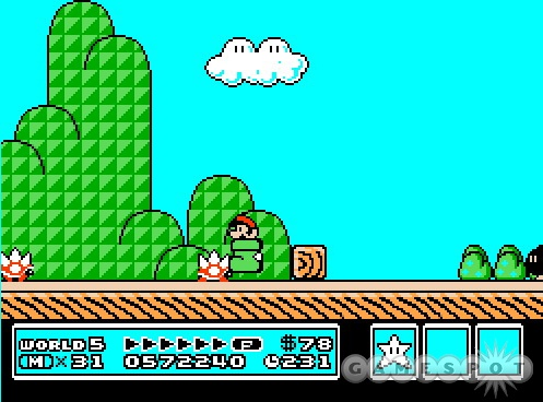 Kuribo's Shoe is a perfect example of how crazy Super Mario Bros. 3 can get.