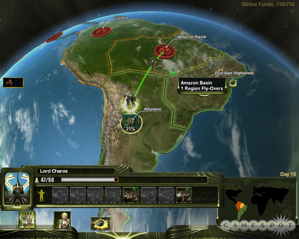 The strategic metagame allows more replayability than a traditional scripted campaign.
