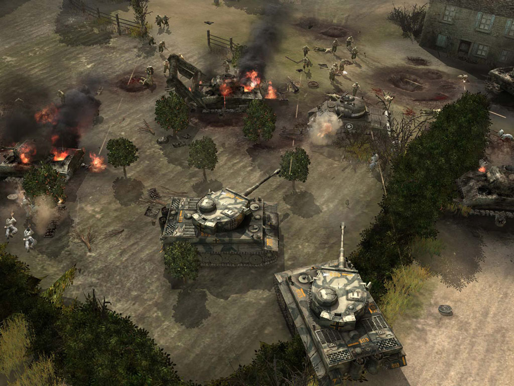 The XFX GeForce 8800 GT comes with Company of Heroes, a great RTS game from Relic Entertainment.