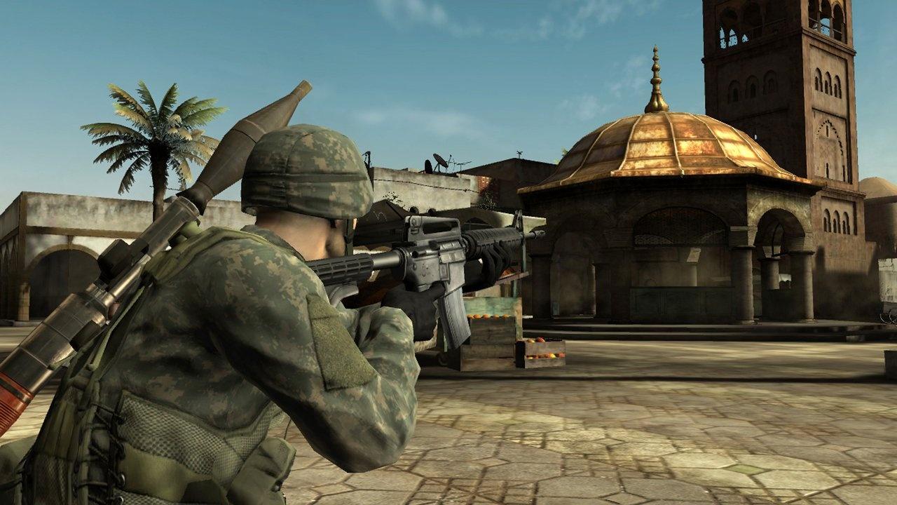 Play SOCOM, meet interesting people, kill them.
