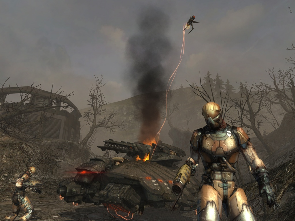 Enemy Territory: Quake Wars will offer action-packed team battles between human soldiers and sadistic alien invaders.