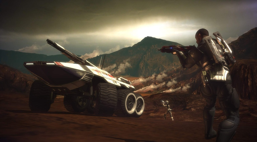 Mass Effect is an ambitious sci-fi role-playing game in which you'll have to use your own balance of exploration, diplomacy, and brute force to unravel the mysteries of the universe.