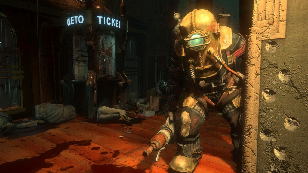 BioShock is shaping up to be the 2007 game most likely to make you lose sleep at night.