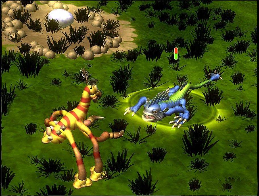 Spore will let players conquer the universe with a single, funny-looking creature.