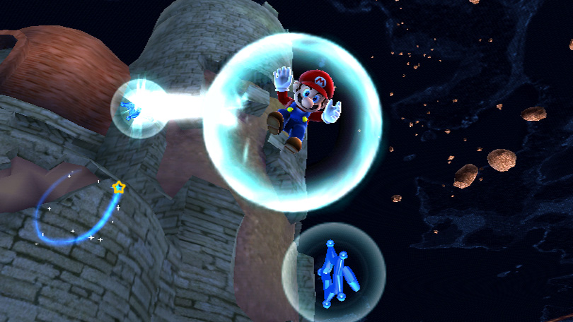 Super Mario Galaxy's use of the Wii controllers promises to breathe new life into the franchise.