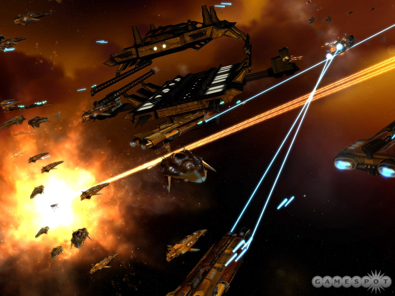 This deep-space strategy game draws its roots from the Homeworld series.