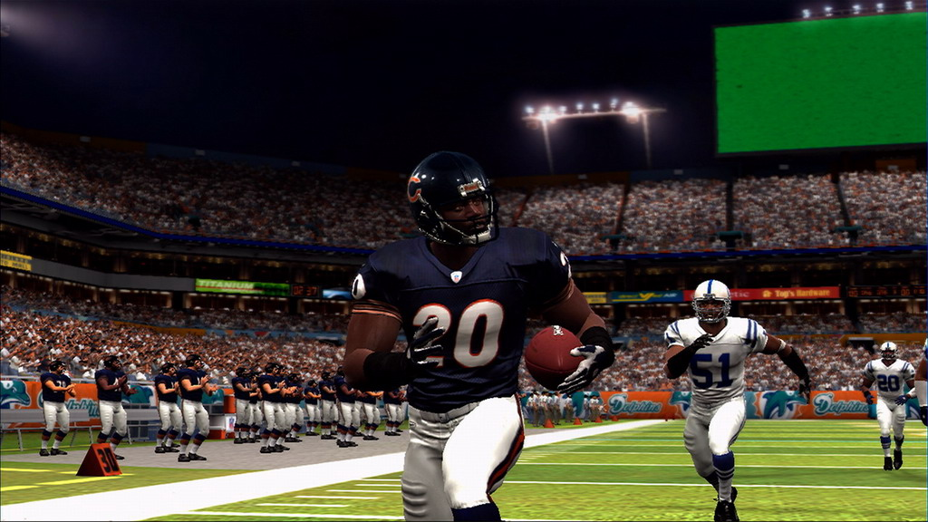 Splitting the ball between Jones and Benson will help keep the Bears' running game going strong.