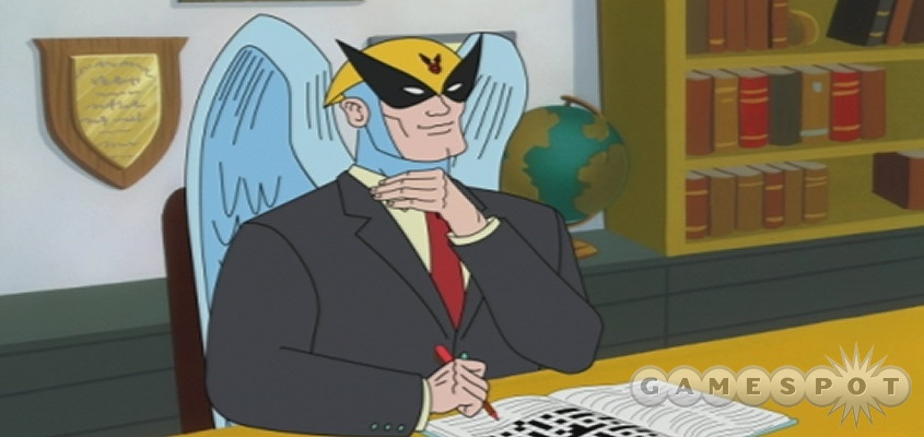 The winged defense attorney and all his crazy compadres make their gaming debut in Harvey Birdman: Attorney At Law.