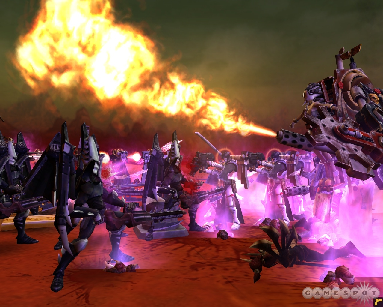 The Dark Eldar are the star of the new single-player demo for Soulstorm.