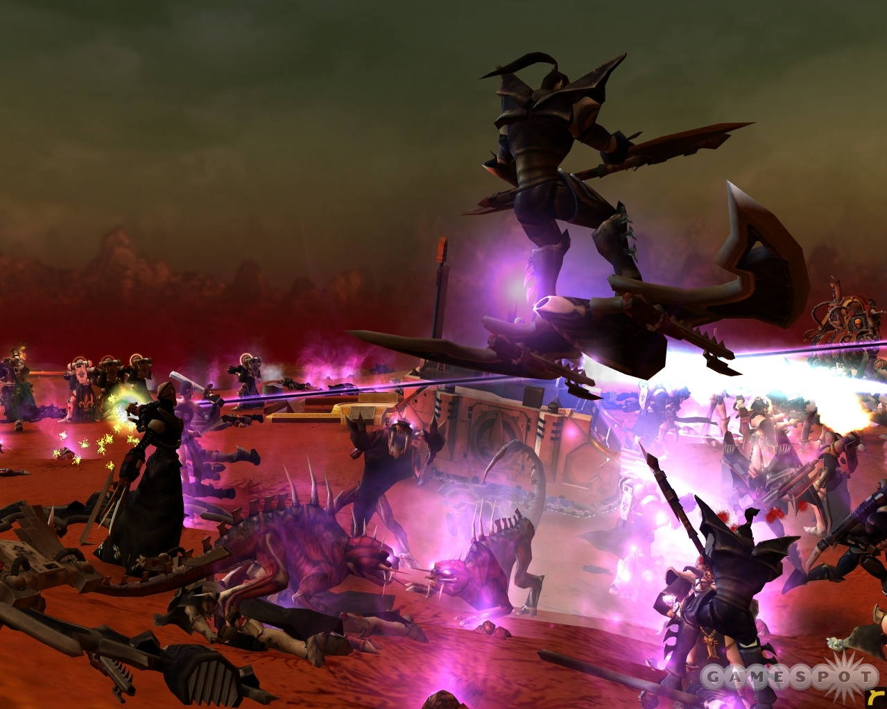 The Warhammer 40,000 universe is a really bloody place.