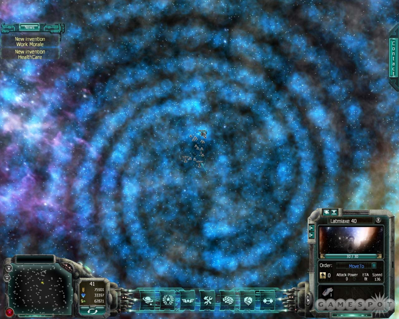 Each one of those dots is basically a star system that you can colonize. This is the largest galactic map in the game.