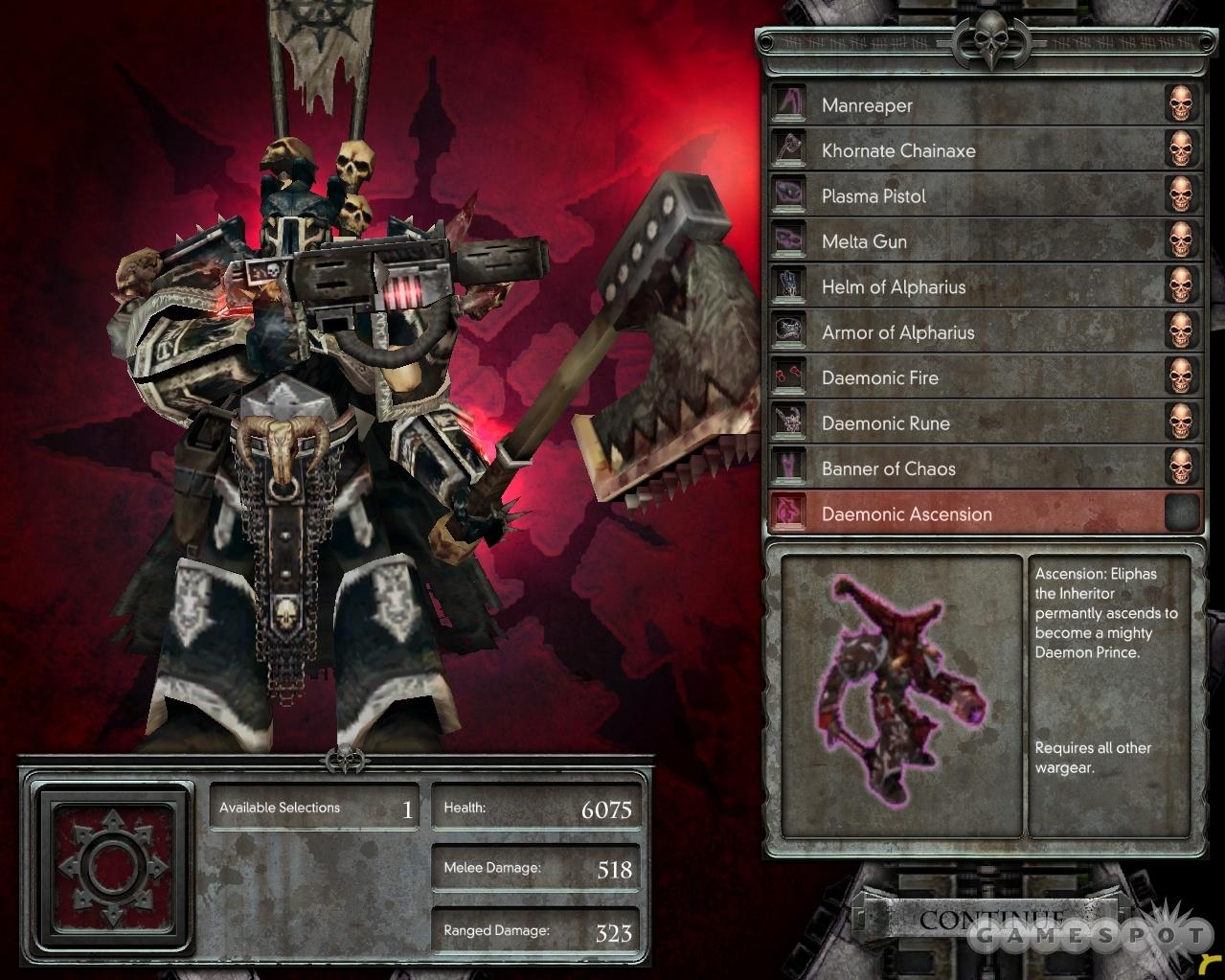 Chaos battle armor.