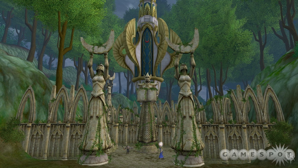 The Temple of Isha is one of the battlegrounds for the scenarios in the game.