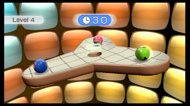 Table tilt: the best game in the Wii Fit bundle.
