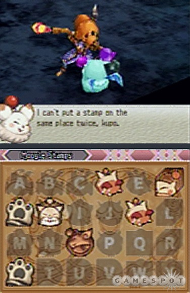 Collect Moogle stamps along the way for special treats later.