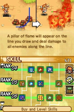 Skill trees allow you to learn new attacks or increase the power of old ones.