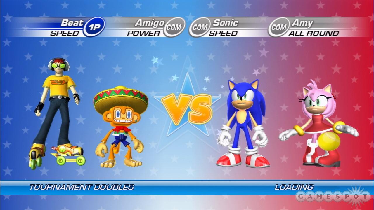 Sega Superstars Tennis Review - GameSpot