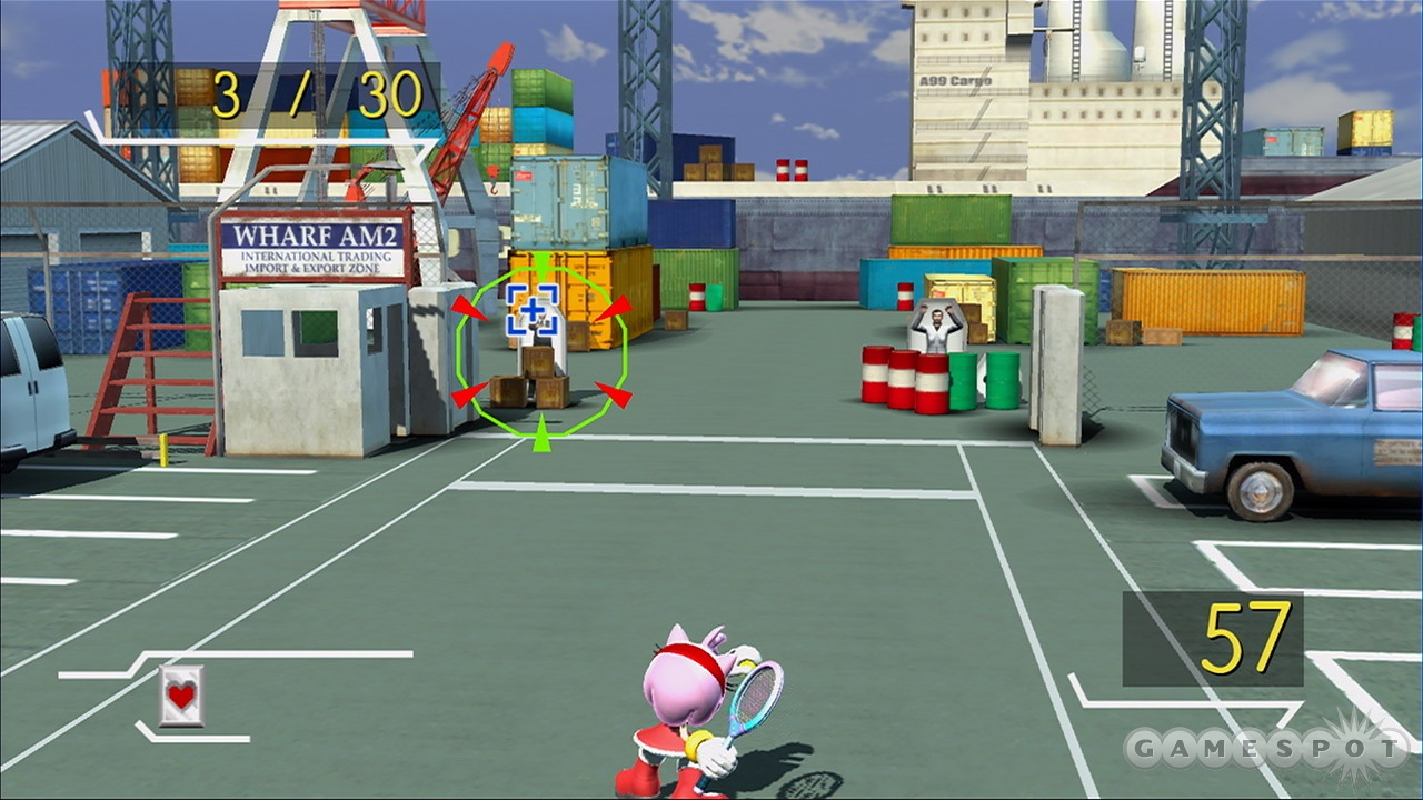 Some of the minigames do a great job of combining the gameplay of their source material with tennis.