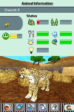 Even cool animals like Cheetahs can't make Zoo Tycoon 2 interesting for very long.