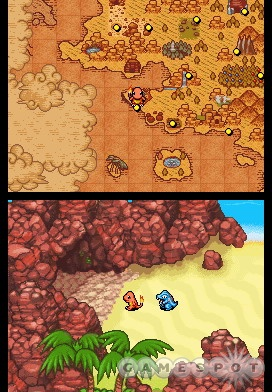 Cherish these colors while they last; the color palette takes a nosedive in dungeons.