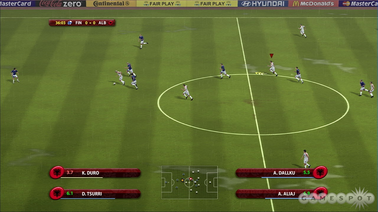 UEFA may look just like FIFA, but there are some noticeable differences between the two games.