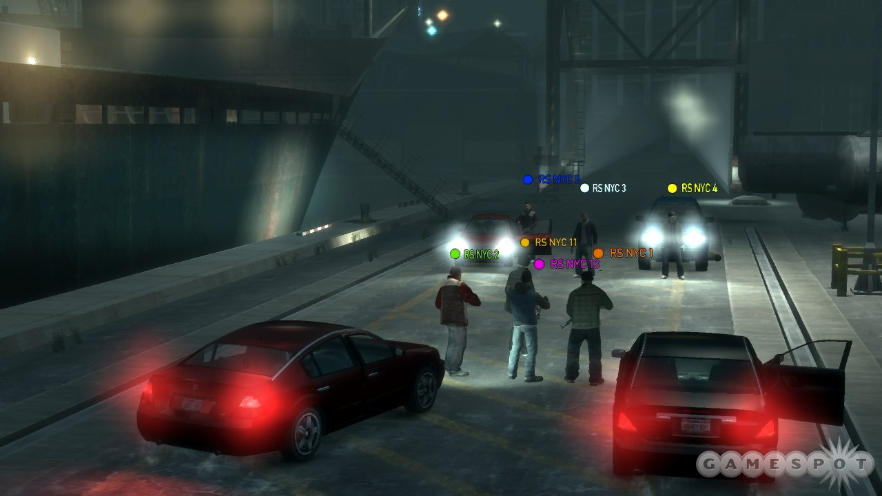 Multiplayer games are an opportunity for up to 16 players to get together in Liberty City.