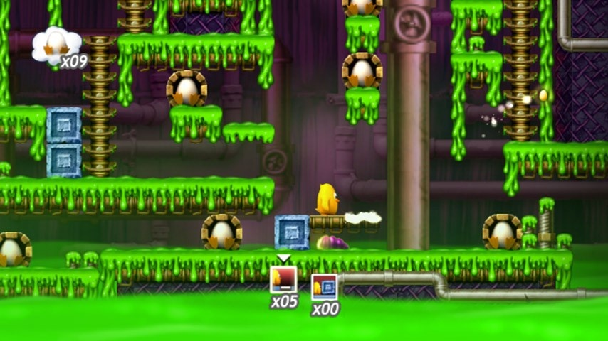 Toki's quest will take you through lush jungles, haunted castles, slime-filled sewers, and underwater passages.