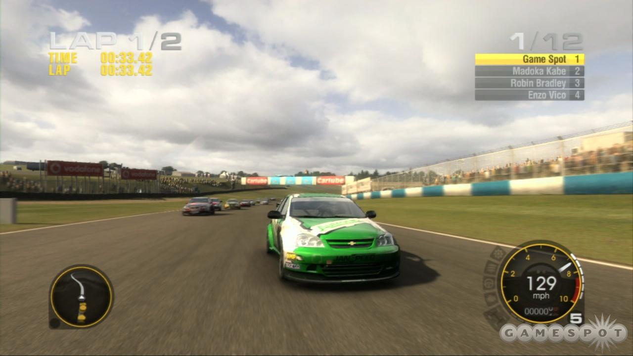 Grid's European scene focuses on real-life race circuits.