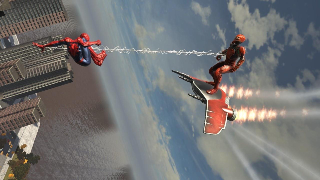 Fighting airborne enemies is a blast.