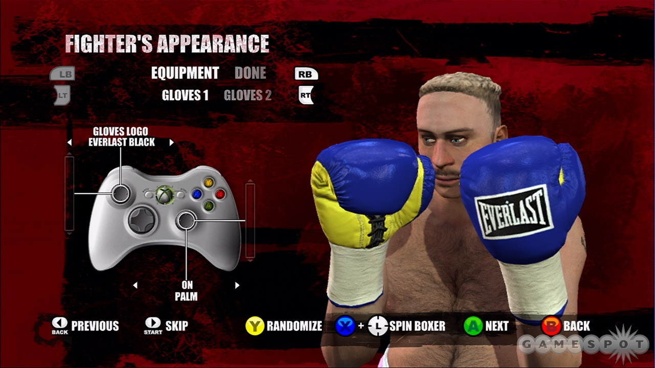 Career mode lets you take your created fighter through the ups and downs of a career.
