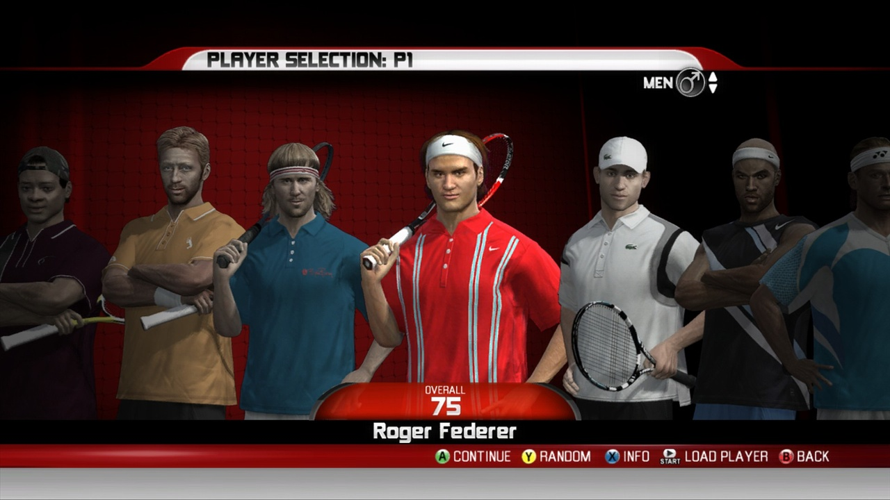 You can play as an instantly recognizable pro or create a new player from scratch.