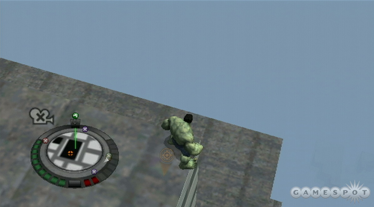 With such terrible draw distance it's no wonder Hulk is always so angry.