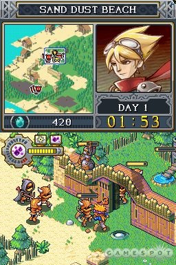 You'll need to multitask during battles to keep defenses in good repair and enemies at bay.
