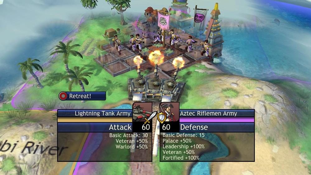 Potent combat bonuses can turn apparent mismatches into fair fights.