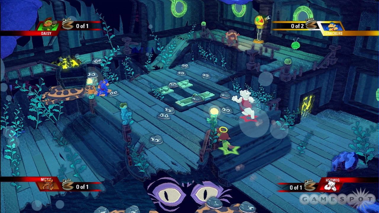 Teleports, treasure turtles, and tentacles will soon make things much more hectic.